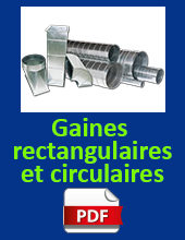 Gaines Rectangulaires Circulaires